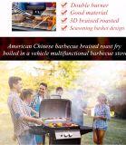Novo Design Exterior multifuncional de churrasco fogão torrado