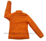 Jupe orange de duvet léger de la mode des femmes pour l'hiver (SM-WQJ02)