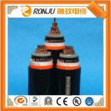 Flame Resisting Copper PVC Insulated Steel Types Armoured PVC Sheathed Power Cable