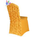 Caliente de alta calidad vendidosbordado en 3D Spandex Lycra cubierta de la Cátedra