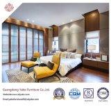 Meubles élégants de chambre à coucher d'hôtel avec du bois fournissant en vente (YB-S-19)