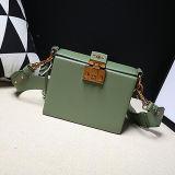 이탈리아 디자이너 형식 상자 모양 핸드백 100% 실제적인 가죽 가방 숙녀 어깨에 매는 가방 Emg5149