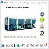 O ar de poupança de energia para o parafuso de água da bomba de calor de ar resfriado