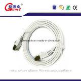 LAN van het Netwerk van de Kabel Ethernet SFTP van de Kat van de Prijs Cat5 Cat5e van de fabriek CAT6 6A Cat7 de Vlakke Kabel van het Flard met RJ45