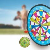 Scheda di dardo magnetica di EVA del Dartboard dei bambini del giocattolo di natale personalizzata