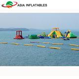 Progettare la sosta per il cliente esterna dell'acqua, sosta di galleggiamento gonfiabile gigante per intrattenimento dell'acqua aperta