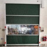 Porta elétrica da alta velocidade do PVC da porta do rolamento do controle de Remoto da porta automática industrial do rolamento