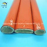 Manicotto rivestito di silicone resistente al fuoco idraulico della vetroresina di protezione contro il calore del tubo flessibile