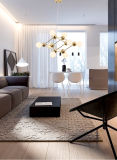 """Iluminación postmoderna de la lámpara pendiente de la lámpara del oro para el hogar o el restaurante en D27 """""""