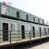 Huis van de Container van het vlak-pak het Modulaire in India
