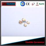 El hilado de cerámica Al2O3 dirige la materia textil del remache de cerámica para la maquinaria de la materia textil