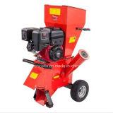 burilador de madera de la desfibradora de la gasolina 15HP de la desfibradora Chipper del jardín
