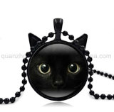 Halsband van de Juwelen van de Kat van het Glas van de Manier van de Verkoop van de douane de Hete