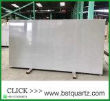 Tapa artificial gris de la piedra del cuarzo con la fábrica profesional