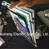 Caja de luz LED de cristal de la ventana de la Propiedad del escaparate Se utiliza en los inmuebles