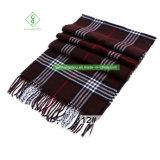 Os homens acrílicos da forma quente do xaile da manta da caxemira da venda aquecem o lenço