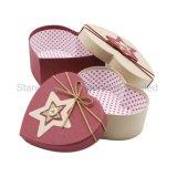 2018년 심혼 모양 사탕 종이 선물 상자 포장 상자 또는 판지 상자