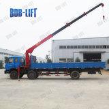 판매를 위한 사용된 트럭에 의하여 거치되는 기중기 화물 자동차 트럭에 의하여 거치되는 기중기