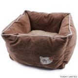 Waschbares weiches Hundesamt-Bett-Doppelt-Funktionshaustier-Kissen