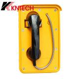 De waterdichte Industriële Telefoon van VoIP van de Telefoon van Autodial van de Telefoon met Goedgekeurd Ce