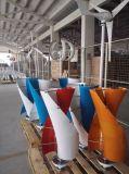 gerador de turbina vertical do vento de 400W Vawt em três cores