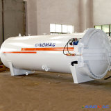 autoclave industrial aprovada do reator dos compostos do PED de 1500X4500mm (SN-CGF1545)