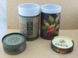 De alta calidad OEM papel de tubo redondo de caja de regalo para el té y vino dulce /el embalaje