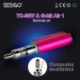De populaire e-Sigaret Seego g-Klap Air1 Uitrustingen van de Pen van de Verstuiver & van de Batterij met Reusachtige Damp voor de Vloeistof van E