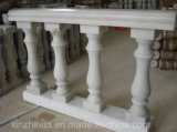 Fléau ionique de commande de /Doric /Corinthian de fléau romain de marbre blanc