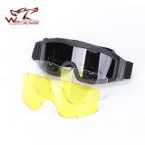 Caliente vendiendo 3 vidrios tácticos militares de la protección de los anteojos de los vidrios de Nvg del perfil del ejército de Ess de la lente para la venta al por mayor de la motocicleta de Wargame