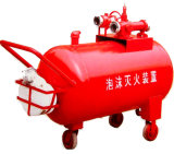 système de lutte contre l'incendie de réservoir de vessie de la mousse 100L-2000L