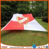 100x300cm pólo bandeira para Holiday Torcendo