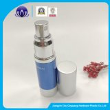 カスタマイズされたデザインアルミニウム装飾的で空気のないポンプびん15ml30ml50ml