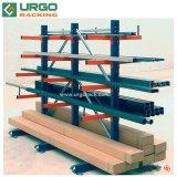 Entrepôt Cantilever réglable pour service intensif Rack / Système de rayonnage cantilever