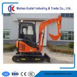 Hautes performances 3000kg Zero-Tail excavateur hydraulique avec moteur Yanmar importés
