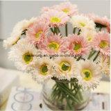 Gambi viola di seta del crisantemo dei fiori artificiali della margherita del mazzo di cerimonia nuziale del basamento di fiore della decorazione di cerimonia nuziale