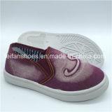 新しい子供の注入は蹄鉄を打つ偶然のスリップオンの靴(HH1206-2)に