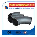 Coude de tuyau en acier au carbone 90 degré
