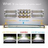 Accesorios Offroad de alta potencia 888W Quad la fila 50 pulgadas, combinado de la barra de luz LED de 4 filas Barra de luces LED Coche curvo