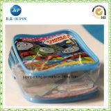 Sacchetto biodegradabile dell'imballaggio del sacchetto del giocattolo del PVC del sacchetto di elemento portante di 100% (jp-plastic054)