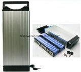 20A BMSのユーロ3 Pinのプラグ48V 850W Ebike電池ラック電池の後部荷物のリチウム電池の造りの48V 15ahは在庫が付いている中国の54.6V 2Aの充電器を送る