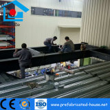 Marco de suelo de entresuelo de la estructura de acero con la cubierta galvanizada del metal del suelo