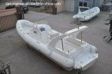 Bateau gonflable rigide de bateaux de côte de Liya 8.3m avec le moteur extérieur