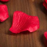 Cheap Fake Red Pétalas para casamento