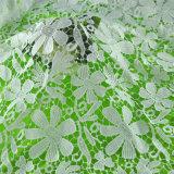 熱い販売のウェディングドレスのための美しい3D花の刺繍のレースファブリック