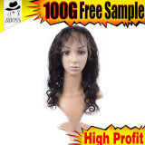 Perruques 100% brésiliennes chaudes de lacet de cheveux humains de produits capillaires de Kbl pleines