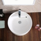 Bassin de salle de bains et bassin en céramique (6076)