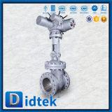 Valvola a saracinesca elettrica di Didtek Wcb 300lb con gli interruttori di coppia di torsione