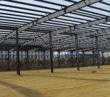 Granero prefabricado del almacén del acero estructural de la luz de los materiales de construcción