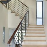 Disegno solido dell'inferriata dell'acciaio inossidabile di SS304 Rod per le scale del balcone